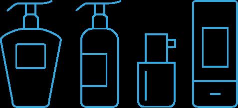 Dispenser Flaschen Icon