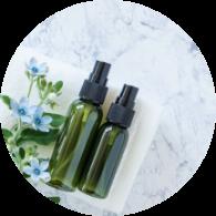 Glasflaschen für Kosmetik