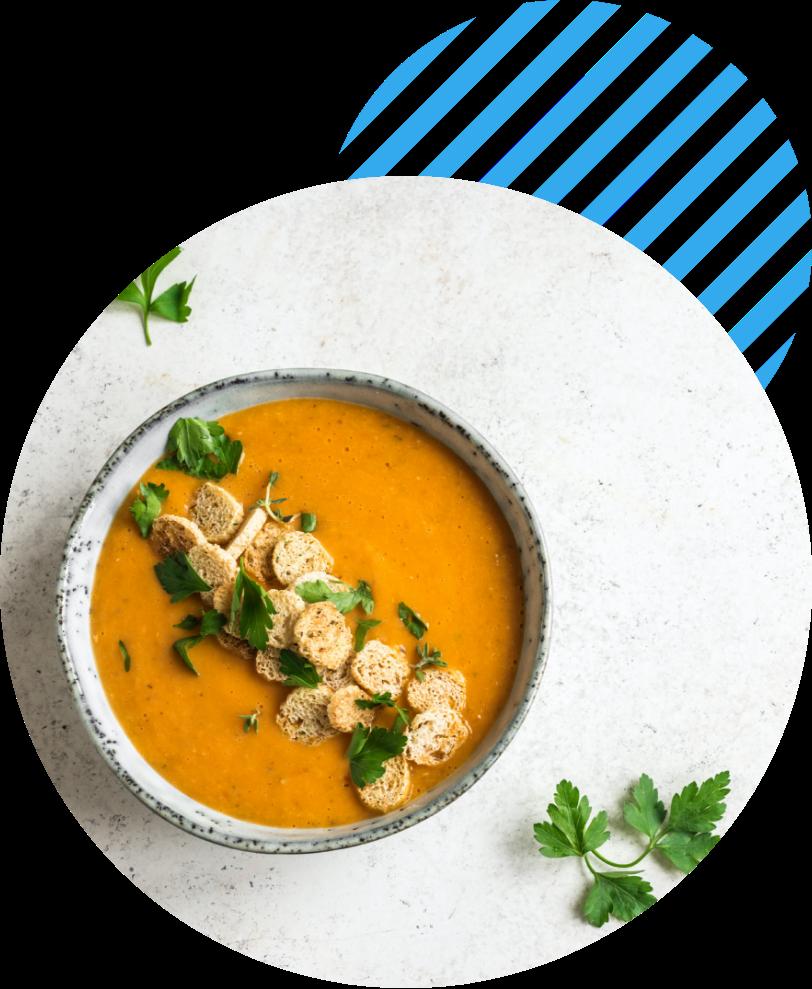 Herstellung Suppen